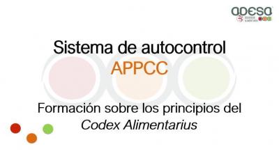 APPCC: formación sobre los principios del Codex Alimentarius